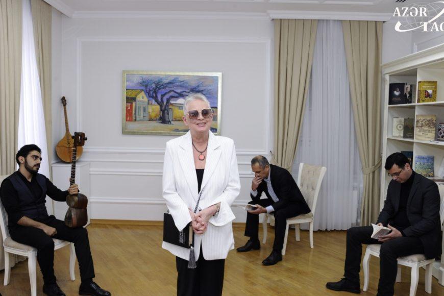 Презентация книг выдающегося писателя Максуда Ибрагимбекова