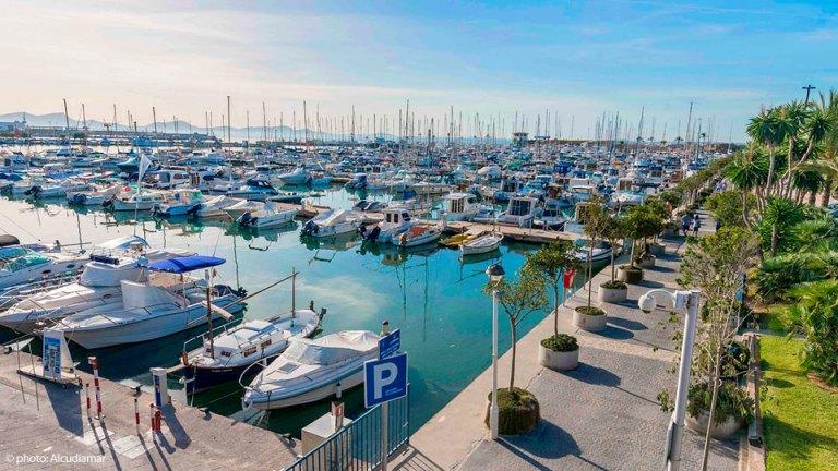 Puerto d & #039; Alcúdia, Mallorca
