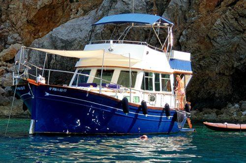 Alquiler de barcos Port Andratx Llaut Mallorca