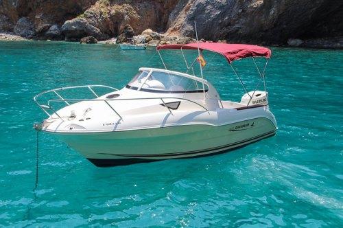 Boat hire Mallorca with license Quicksilver QS 620