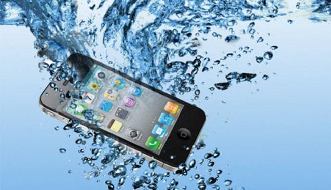 سقوط هاتفك فى الماء