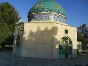 Shrine of Khwaja Abul Qāsim Gurgāni (rahmatAllah alaih), in Gurgan, Iran