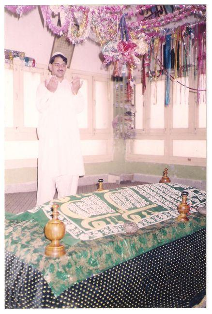 Noble grave of Qazi Muhammad Sadruddin Naqshbandi