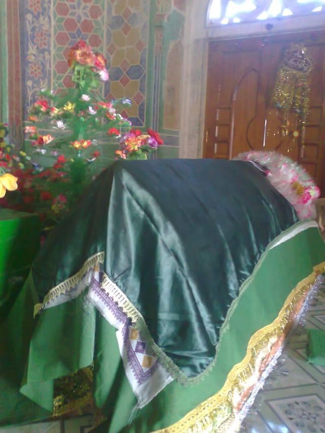 The noble grave of Khwaja Ghulam Hasan Suwag