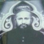 Probably a handdrawn picture of Hazrat Sayyid Barkat Ali Shah Lakhnawi Naqshbandi Mujaddidi