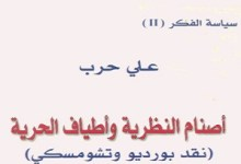 Photo of كتاب أصنام النظرية وأطياف الحرية نقد بورديو وتشومسكي علي حرب PDF