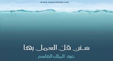 Photo of كتاب سنن قل العمل بها عبد الملك القاسم PDF