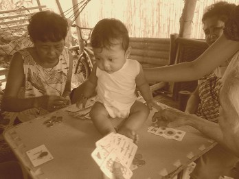 they say the cards help them to not sleep in the afternoon and avoid hypertension. hmm.