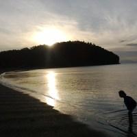 A Lovely Morning: sunrise, sky, sea.