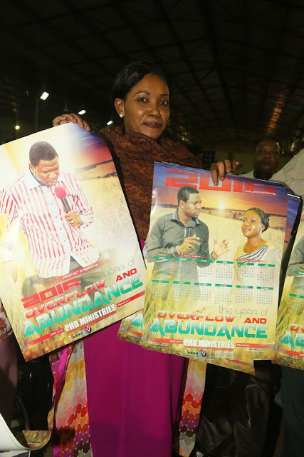 ANOINTED POSTER & CALENDAR FROM PROPHET MAGAYA - SEE PHOTO