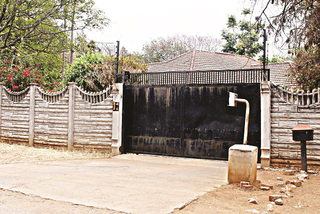 The house at which a Chineese national was robbed in Hillside, Bulawayo.