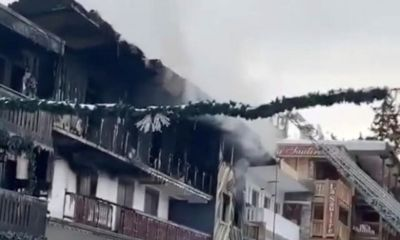 French resort fire