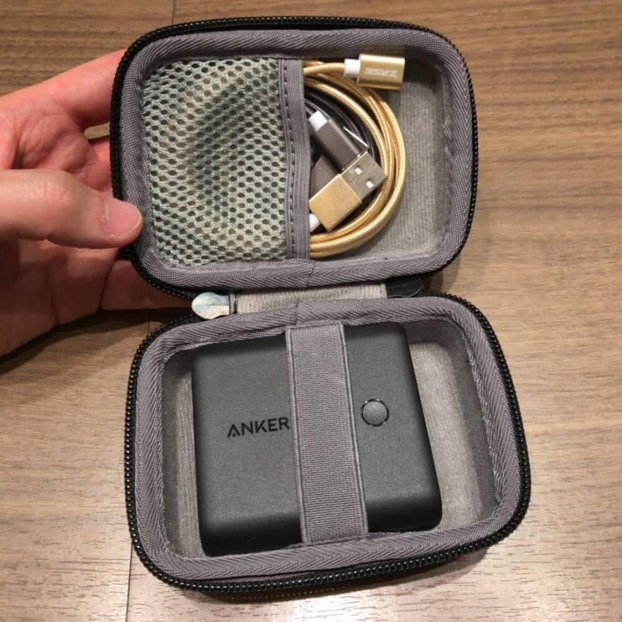AnkerのPowerCore Fusion 5000の専用ケースはかなりおすすめ