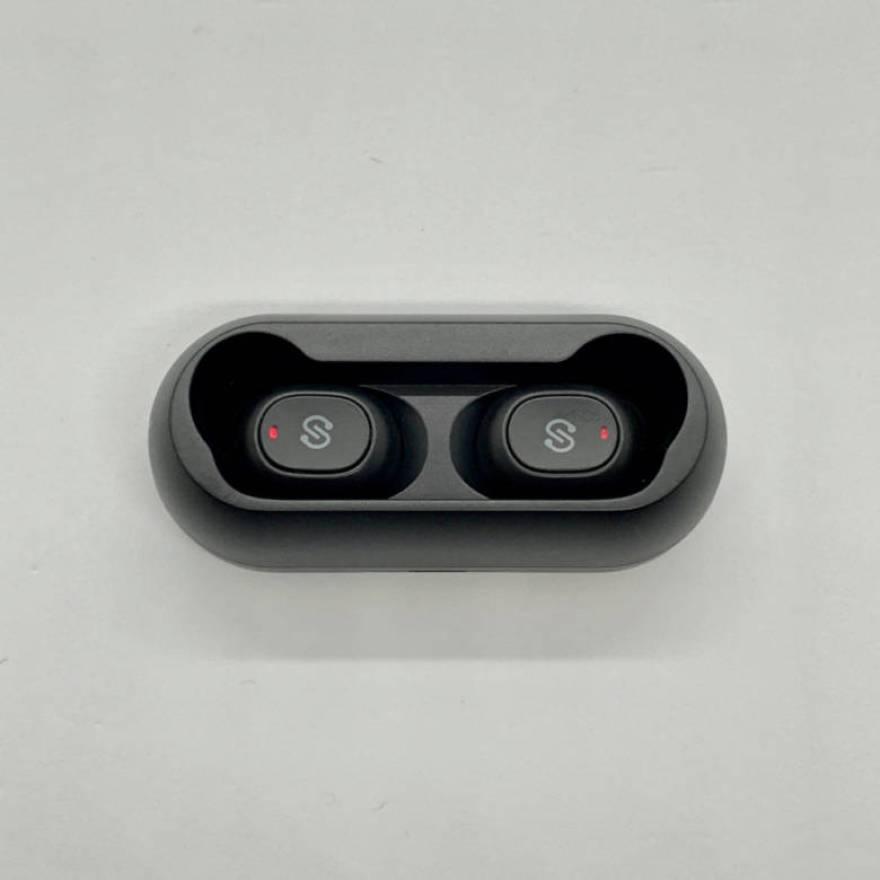 SoundPEATS TrueFreeはイヤホン単体で4時間、ケースをふくめると合計20時間再生できる