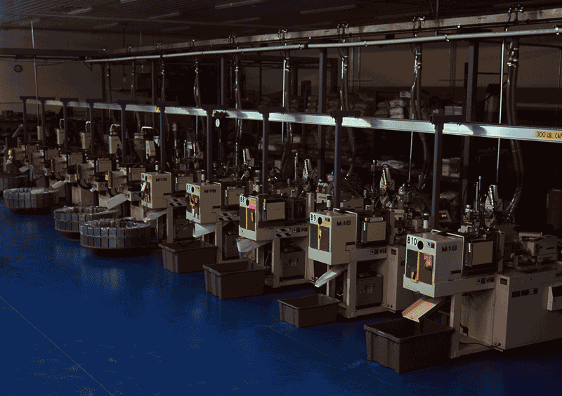 "Makuta Technics Micro Molding plant running ""lights out."""