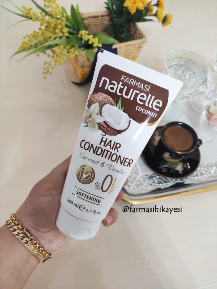 farmasi-naturelle-coconut-hindistan-cevizli-sac-kremi