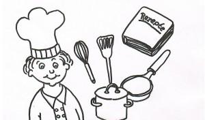 Ein Mitsprechgedicht für Senioren zum Thema Kochen.
