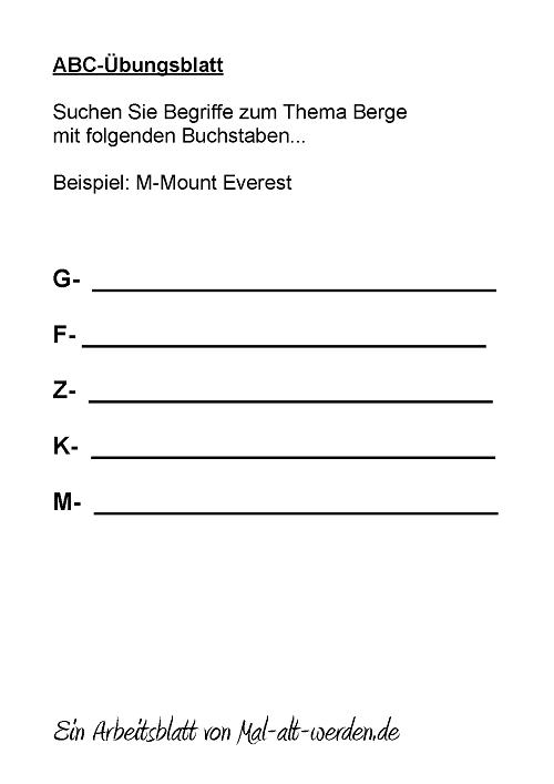 abc-arbeitsblatt-berge
