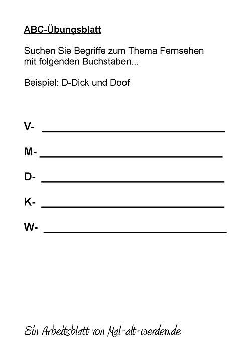 abc-arbeitsblatt-fernsehen
