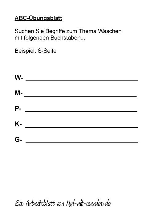 abc-arbeitsblatt-waschen