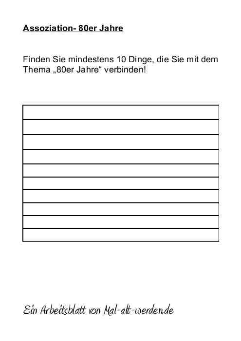 arbeitsblatt-assoziation-80er-jahre