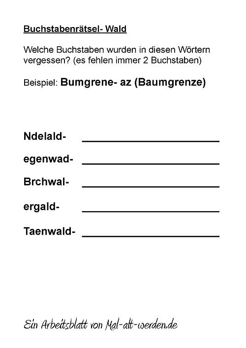 buchstabenraetsel-wald