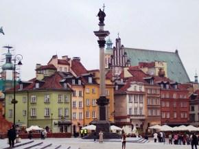 Fachadas de Varsóvia