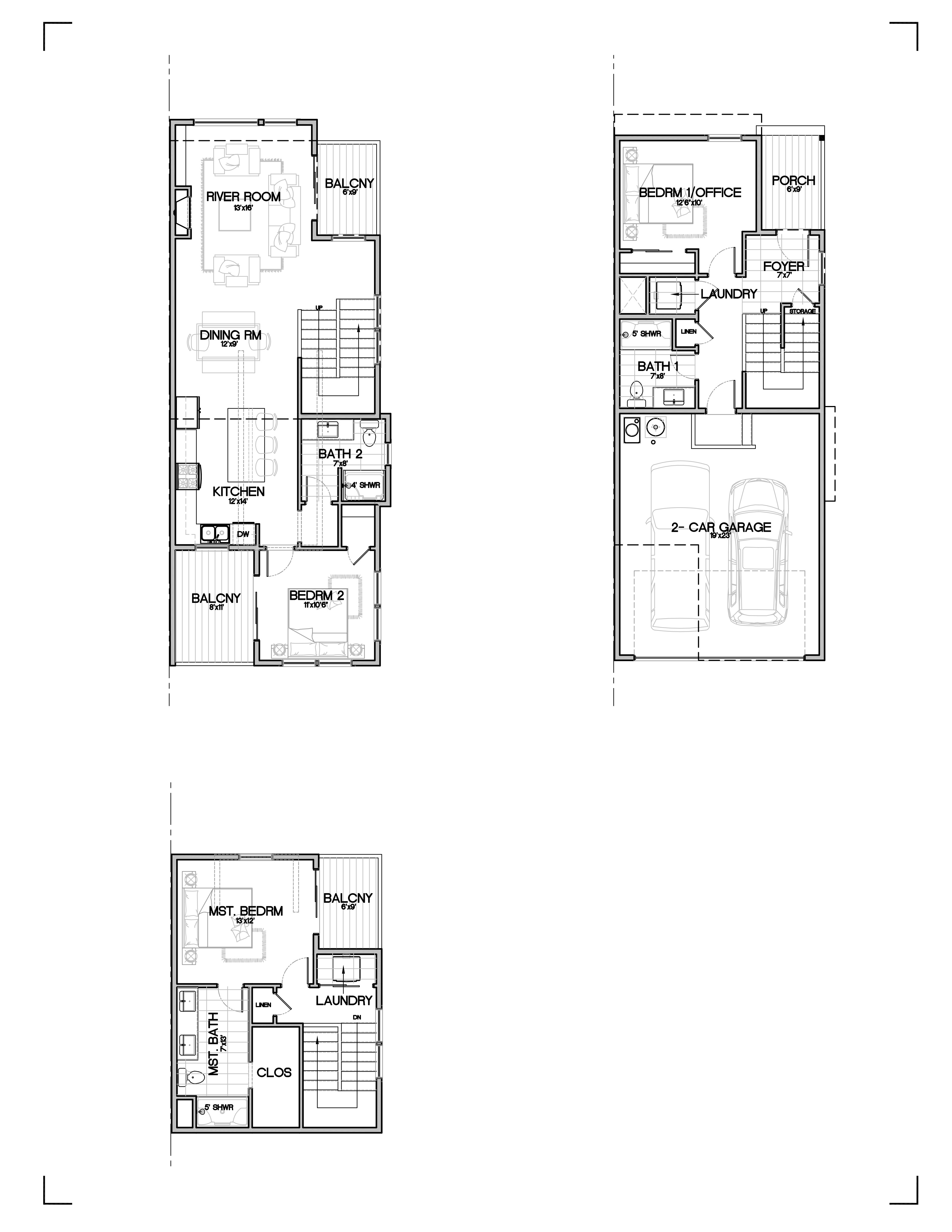 Townhome In Southwest Bend Lot 4