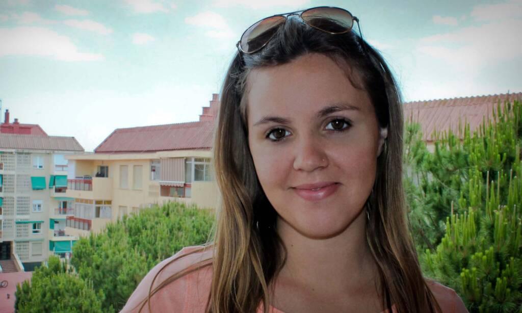 María Marín, voluntaria del Área de Educación