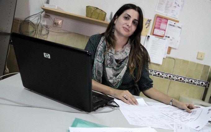 Beatriz Lola, voluntaria del Área de Empleo