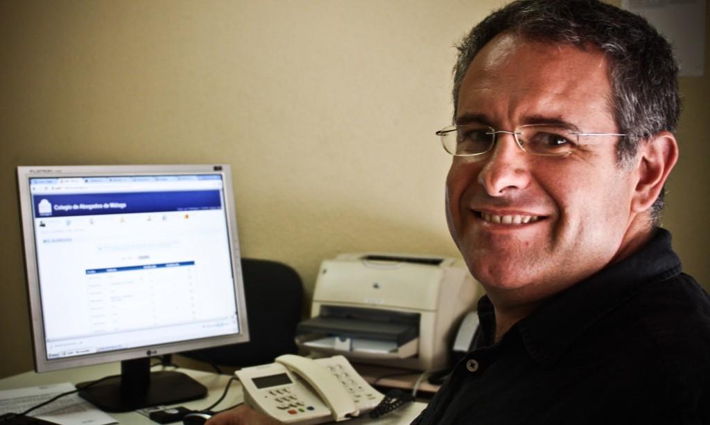 José Luis Rodríguez, voluntariado del Departamento Jurídico
