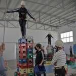 Mañana de diversión, adrenalina e interculturalidad para una quincena de alumnos de la Axarquía