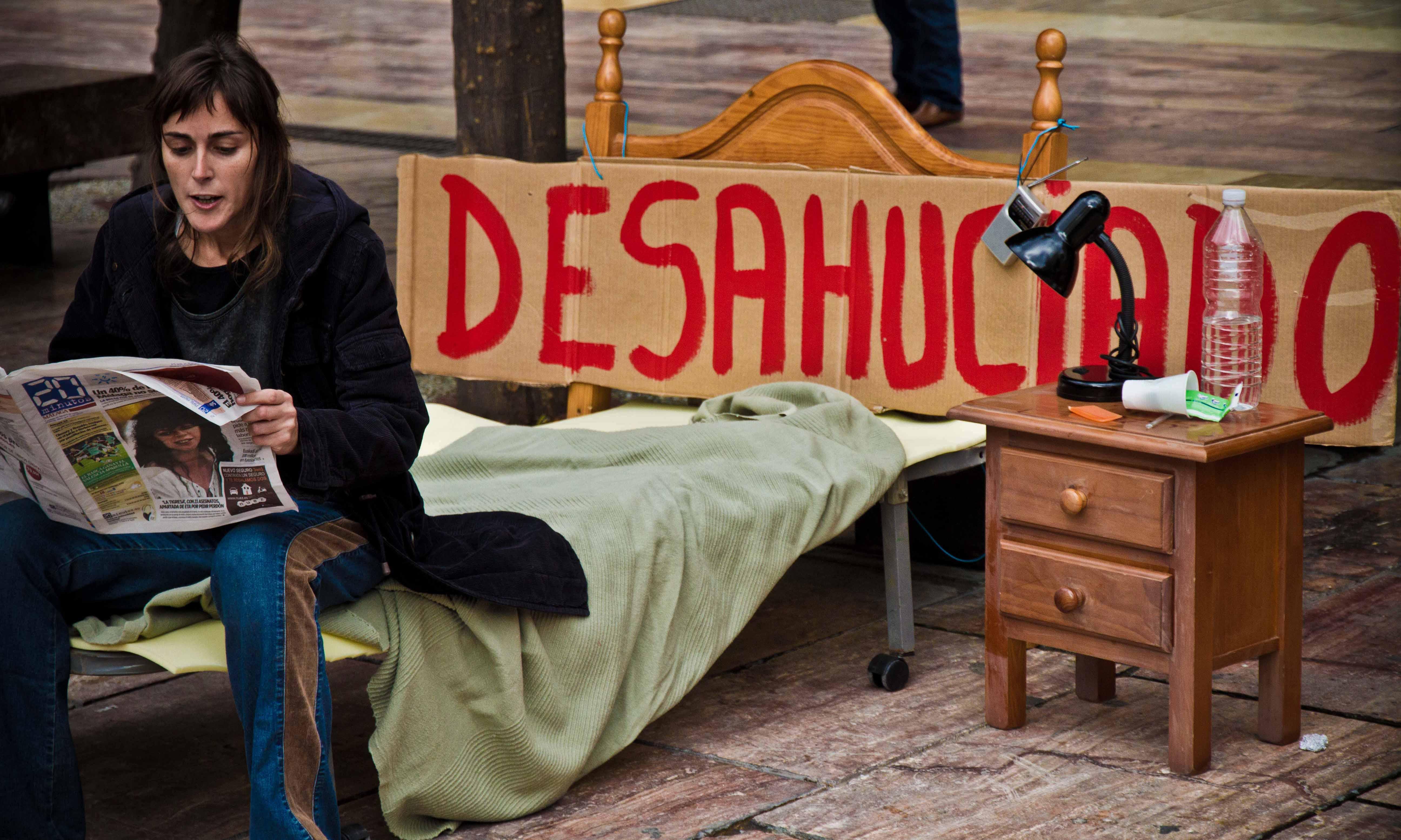 Acto de la campaña Todos somos ciudadanos. Nadie sin hogar 2011