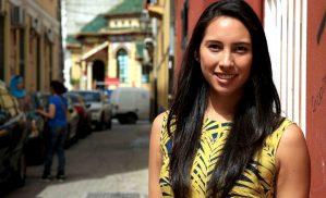 Daniela Flores, voluntaria del Área de Empleo
