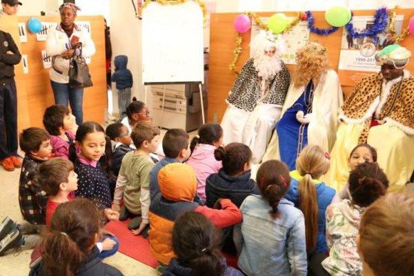 Los Reyes Magos llenaron de sonrisas Málaga Acoge