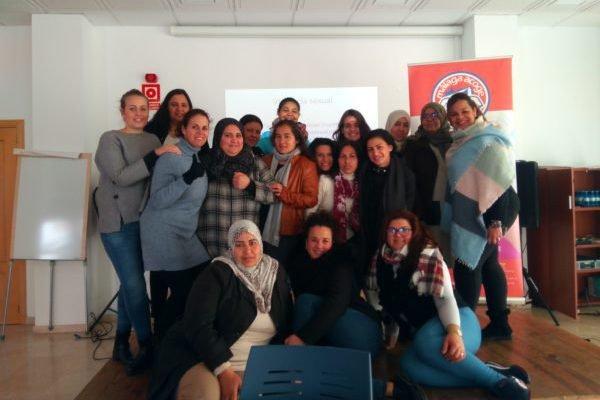 Mujeres de Antequera tejen redes por la igualdad