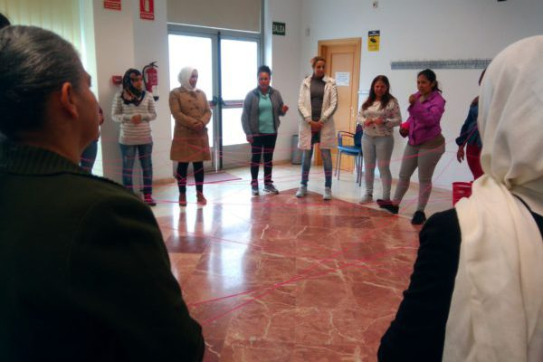 Taller alienta la creación de un plataforma de mujeres migrantes en Antequera