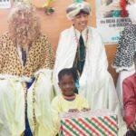 Los Reyes Magos reparten ilusión en Málaga Acoge