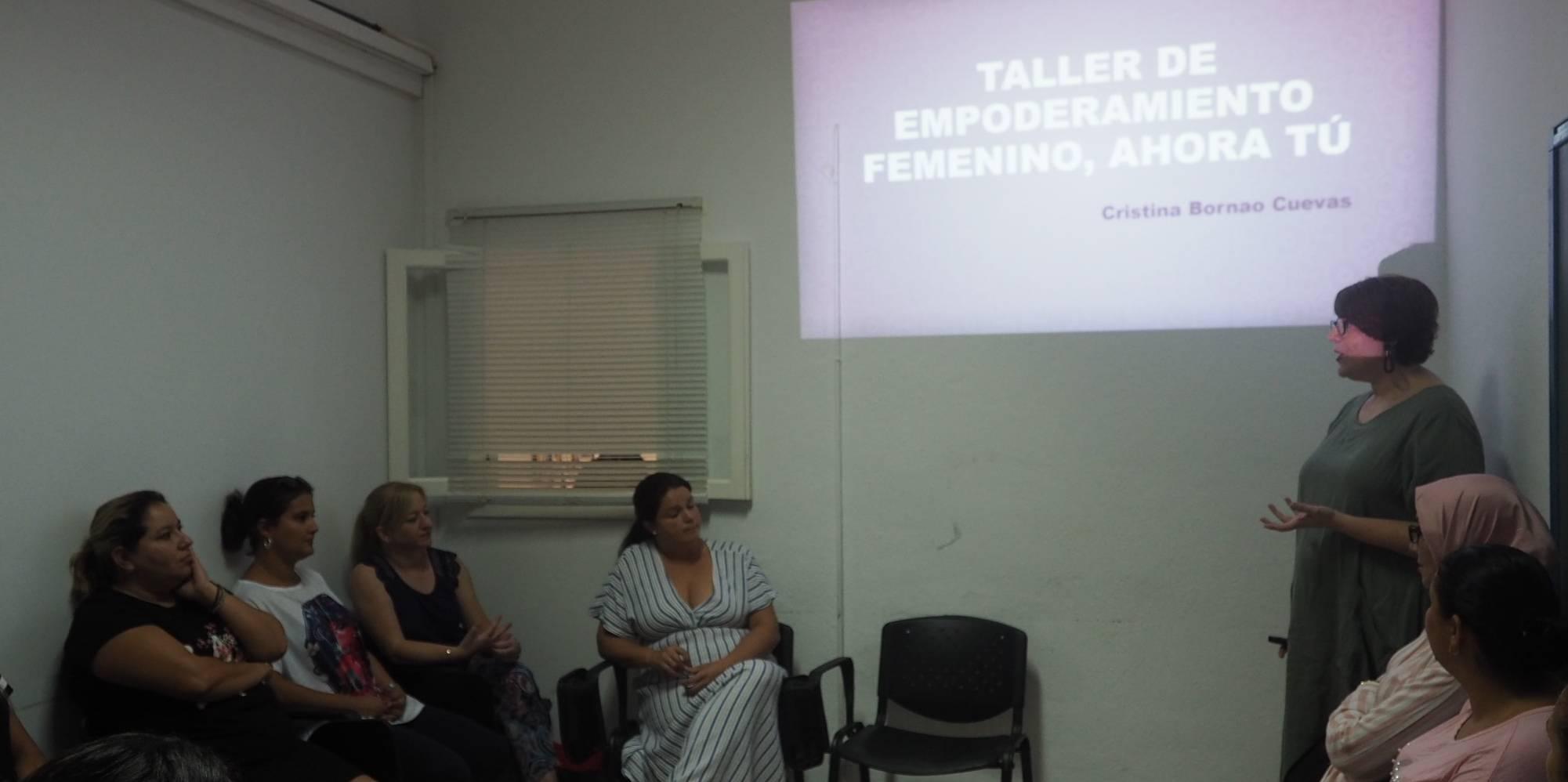 «Ahora decido yo: sin miedo». Un taller para mujeres de Fuengirola