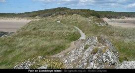 Path on Llanddwyn Island