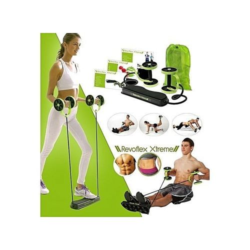 Revoflex Xtreme Home Total Body Fitness Gym, Abs Trainer, Resistance Exercise Abdominal Trainer, Body Resistance Workout Training Toning Machine