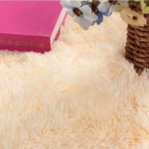 Smooth Fur Rug Fluffy Carpet peach