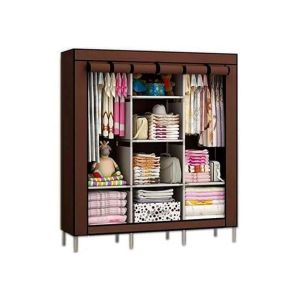 3-column-wooden-portable-wardrobe