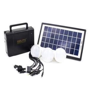 GD LIGHT 8006/ Solar Charger/  Solar Panel/ LED Lights