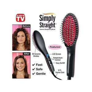 Simply Straight Digital Hairbrush