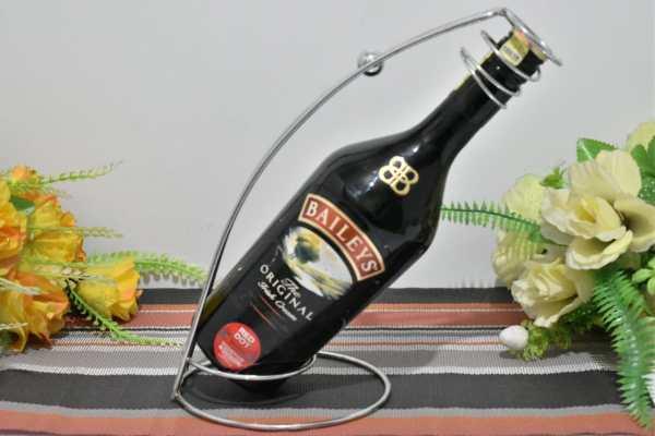 Stainless steel wine holder