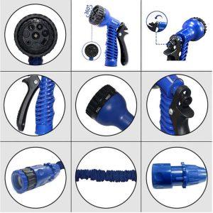 Expandable Garden Hose Pipe with Spray Gun 200fts