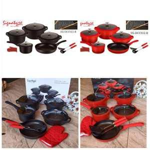Signature 12 Pc  Non Stick Cooking Pots Set