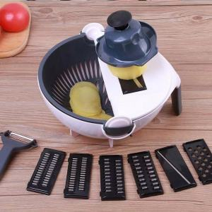 9 in 1 multi-functional water basket kitchen Vegetable Cutter