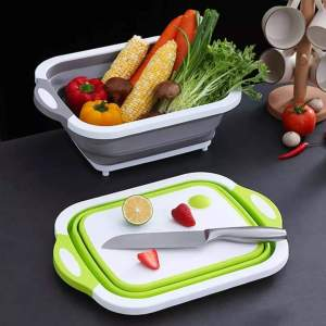 Collapsible Chopping Board and Drainer